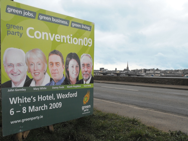 Wexford - The Greens will introduce their up-and-coming candidates