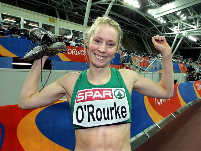Derval O'Rourke was delighted with her performance