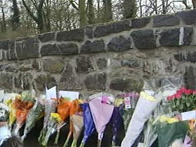 Antrim - Floral tributes