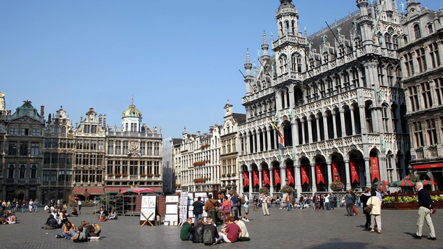 The Grand Place - One of the most impressive squares in the world