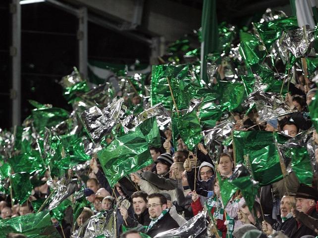 Shamrock Rovers will host Juventus on Thursday