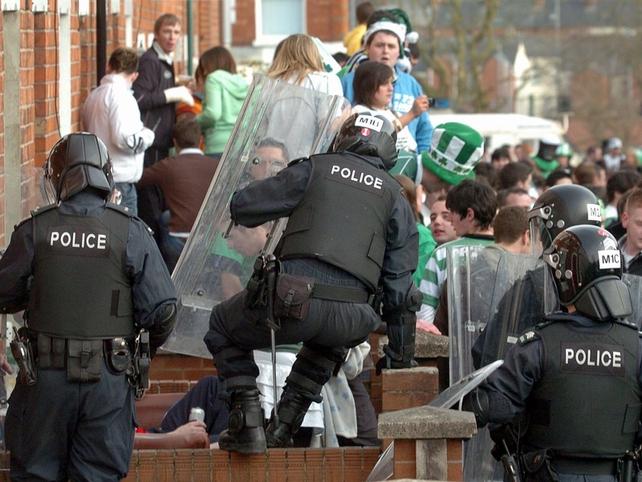Belfast - Five appear in court