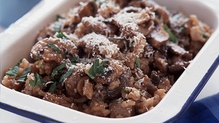 Porcini and Chocolate Risotto