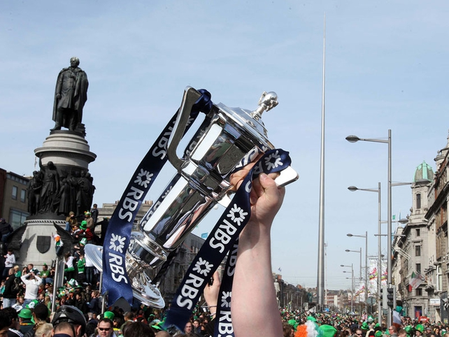 Will Brian O'Driscoll bring the RBS 6 Nations trophy home to Dublin? Catch all the action on RTÉ.ie
