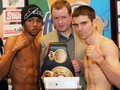 Dunne makes weight for title fight