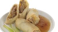 Vietnamese Fresh Summer Rolls and Sweet Birds Eye Chilli Dipping Sauce - A tasty and affordable dish.