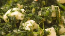 Ray Cheeks, Garlic Spinach and Patate al Forno - Try this tasty recipe for a meal with a difference.