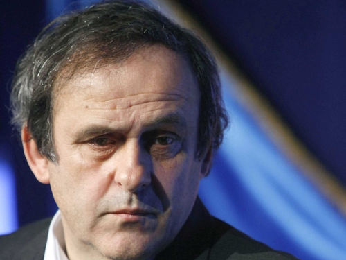 Michel Platini's much derided 'extra referee' system is up for discussion