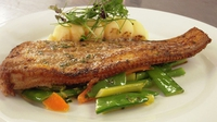 Black Sole - Serve with sauté or puréed potatoes and a selection of vegetables.