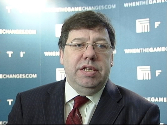 Brian Cowen - Hoping for partnership agreement