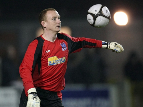 Galway keeper Barry Ryan was dismissed in the 74th minute