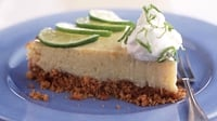 Key Lime Pie - A baked key lime pie is more interesting than a refridgerated version.