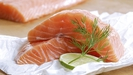 Steamed Salmon with Fennel Salad and Avocado Puree