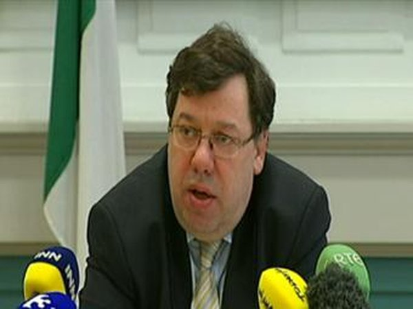 Brian Cowen - 'Model of taxation to be adapted'