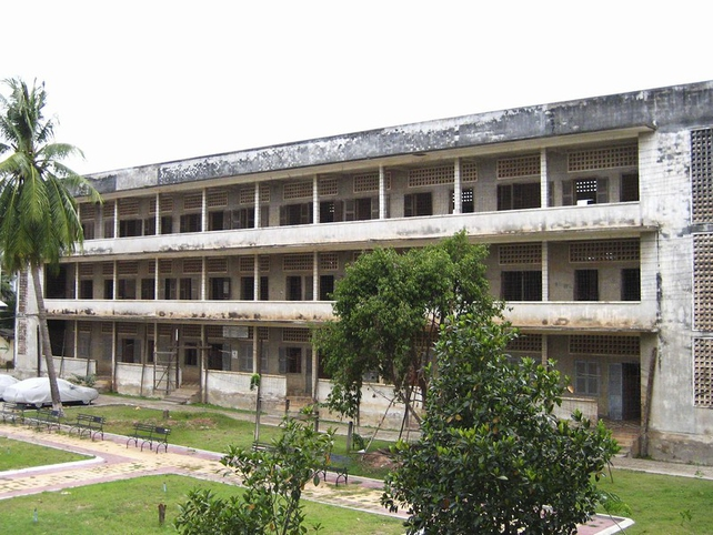 S-21 prison - 14,000 people died during reign of Pol Pot