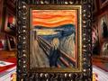 The Scream by Norwegian artist Edvard Munch