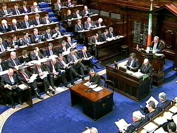 Dáil Éireann - 'Six steps' to restore Irish economy outlined
