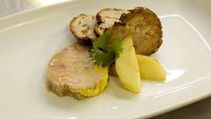 Terrine of Foie Gras: Heat