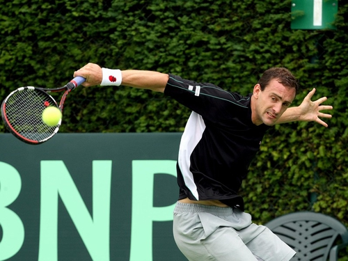 Conor Niland will face Mardy Fish in the first round of the US Men's Clay Court Championships