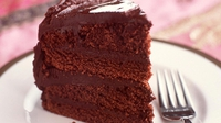 Beetroot & Chocolate Cake - Chocolate and beetroot are an unusual combination but one that works well.