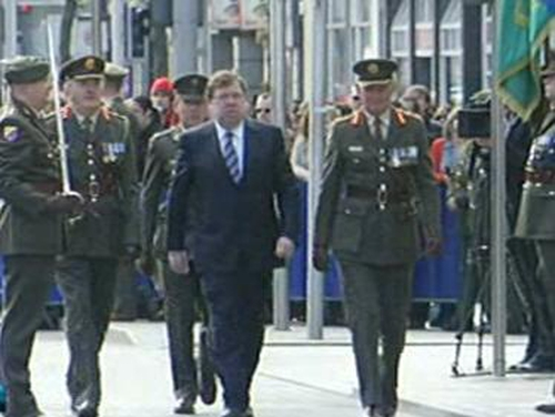 Brian Cowen - Attended 1916 Rising Commemoration