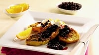 Croissant Frits with Blackcurrants and Orange - Garth McColgan gives the humble croissant a scrumptious makeover.