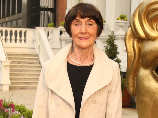 June Brown - pictured at the BAFTA nominees lunch