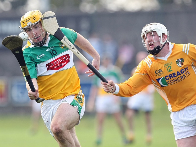 Antrim and Offaly are two of the sides involved in the relegation series