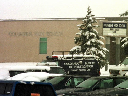 Columbine High School - Closed for the day