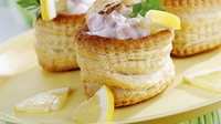 Mushroom Vol au Vents - A great snack or starter.