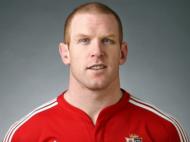 Paul O'Connell (Ireland) - Lock. Munster and Ireland's second-row totem leads by example.