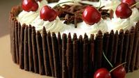 Black Forest Gateau - A classic dessert!