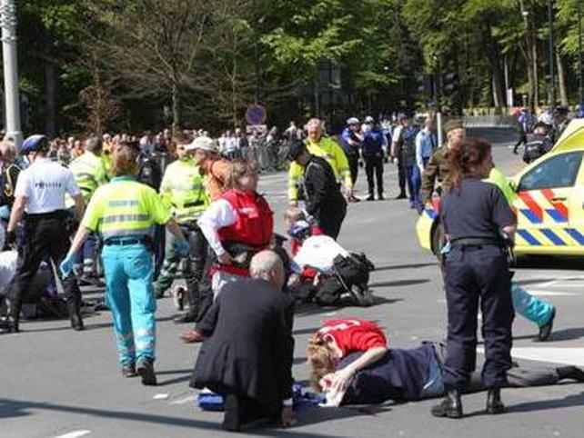 Apeldoorn - Five onlookers killed in attack