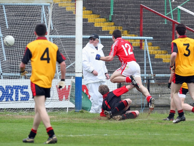 Colm O'Driscoll slots home to give Cork victory