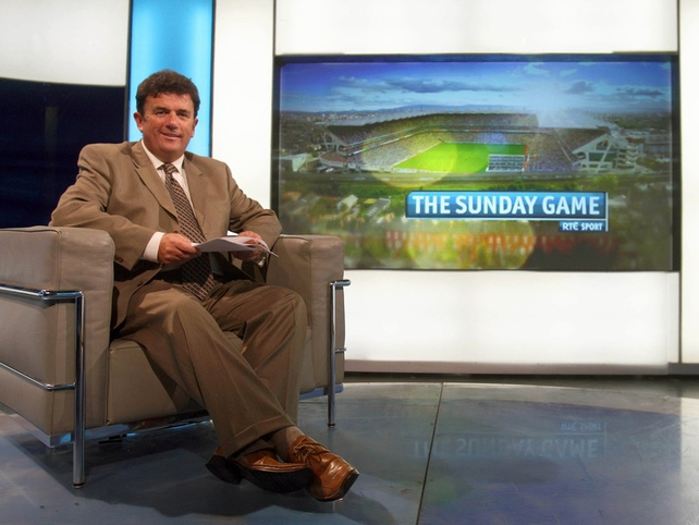 Des Cahill will be the new anchorman of The Sunday Game highlights show every Sunday on RTÉ Two