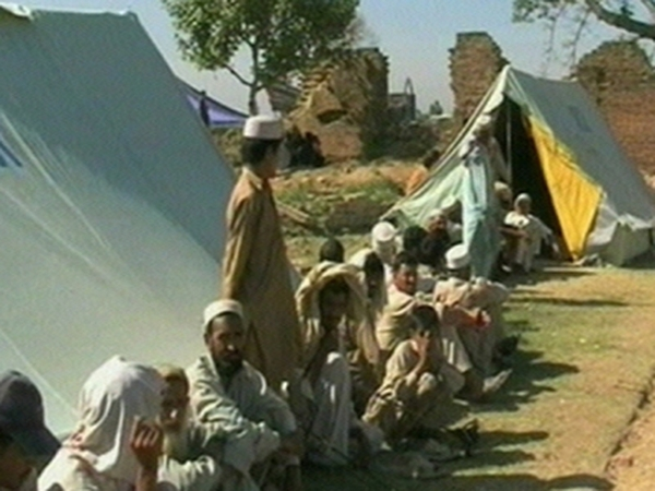 Swat - People displaced by conflict