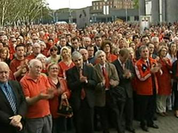 Limerick - Thousands protest over gang crime