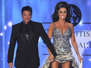 Peter Andre and Katy Price in happier times