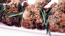 Spiced Lamb Cutlets, Pomegranate, Walnut, Red Onion and Mint