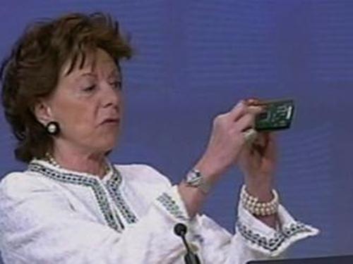 Neelie Kroes - Intel 'harmed consumers'