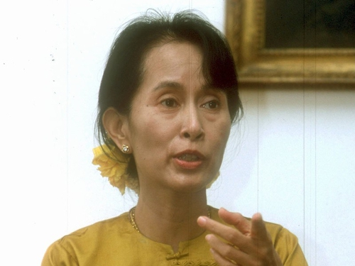 Aung San Suu Kyi - Charged with breaking terms of house arrest