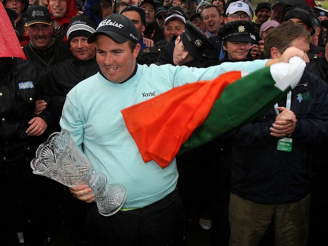Shane Lowry is considering turning pro after his Irish Open success