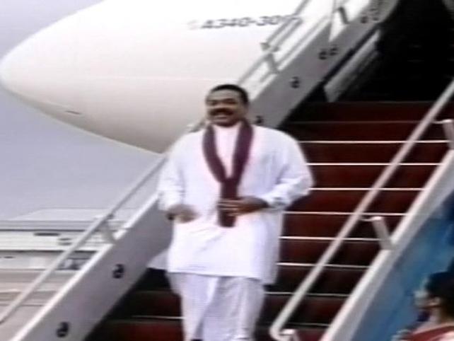 Mahinda Rajapaksa  - Declared victory