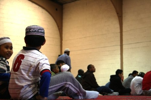 Children at the Cork Mosque