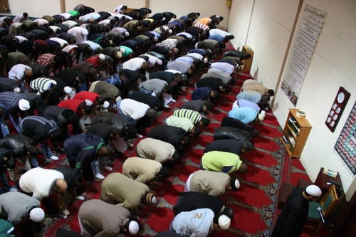 Friday Prayer at the Cork Mosque
