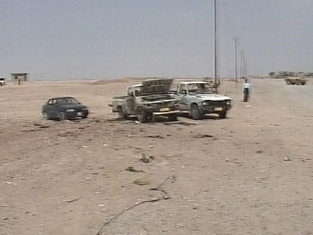 Kirkuk - Militia under attack