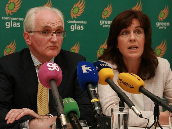 Gormley & de Búrca - No longer party colleagues