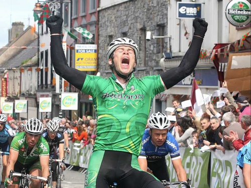 Paul Healion - Was due to take part in Tour of Ireland