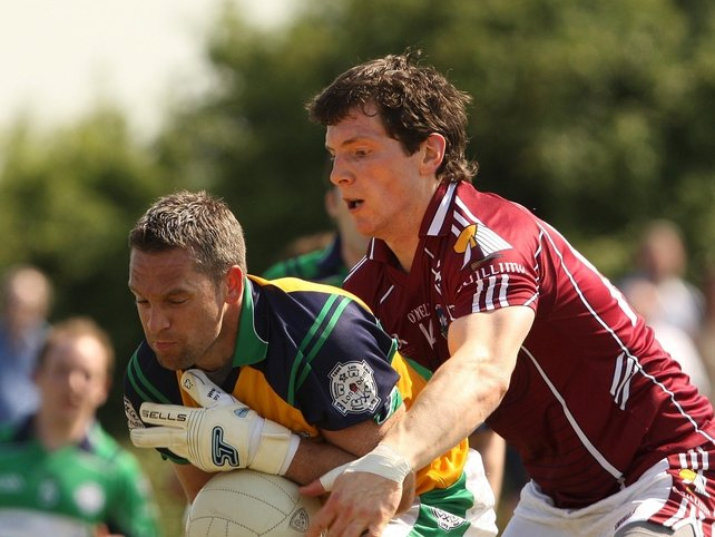 Michael Meehan (Galway) and Brian McBrearty (London)