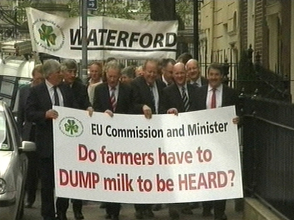 Protest - Farmers gather in Dublin